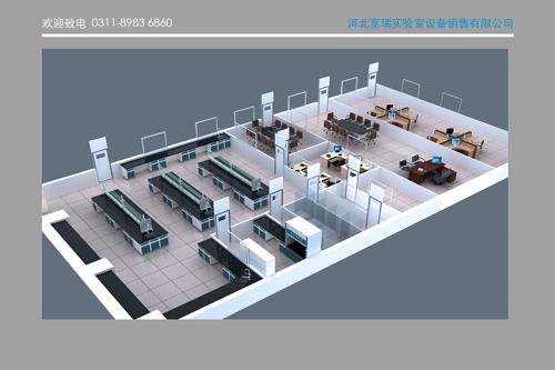 某食品实验室效果图