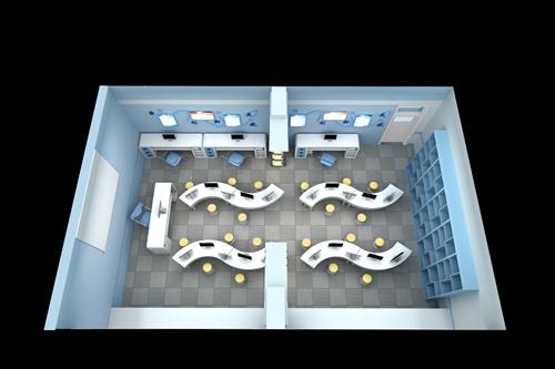 创客实验室效果图