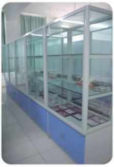 铝木标本柜