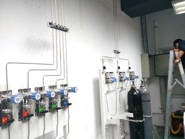 研究所气路实验室